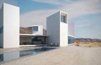 Four Eyes House, casa care priveste la peisajul desertului