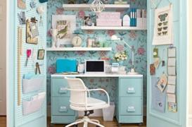 Exemple despre cum poate incapea un birou intr-un dulap
