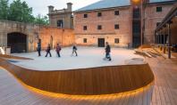 Cladirea muzeului Tazmanian face parte din colectia de artefacte Biroul australian Francis - Jones Morehen Thorp