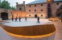 Cladirea muzeului Tazmanian face parte din colectia de artefacte