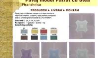 Noul model de pavaj Patrat cu Stea - Constructii Millenium Pavaj model Patrat cu Stea Pavaj