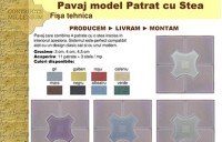 Noul model de pavaj Patrat cu Stea - Constructii Millenium