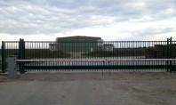 O noua poarta Delta 9 5 m de la HERAS instalata Poarta proaspat instalata modelul DELTA
