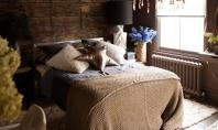 Dormitoare cu atmosfera misterioasa Desi intunecate si misterioase amenajarile acestor dormitoare creaza totusi senzatia unui spatiu