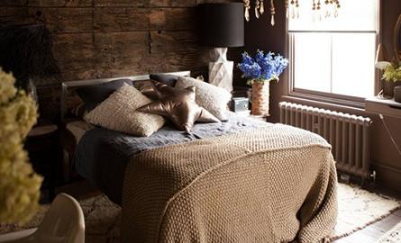 Dormitoare cu atmosfera misterioasa