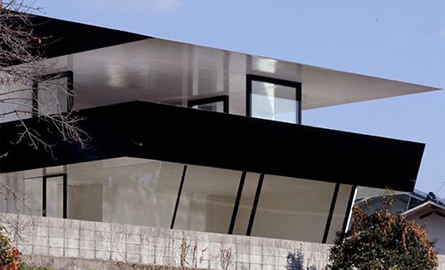 Casa Otake din Japonia exploateaza la maxim soarele