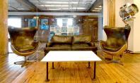 Design industrial autentic pentru birourile companiei Quirky Birourile companiei Quirky din West Chelsea New York ocupa