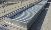 TOUTEMPS - Cupolete ventilatie naturala permanenta Cupoleta cu lamele pentru montaj in toate tipurile de acoperis