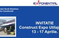Exponential: INVITATIE la Construct Expo Utilaje 2011, 13 - 17 Aprilie
