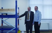 Consulul Onorific al Marii Britanii viziteaza fabrica Dexion din Romania
