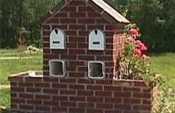 Caramida pentru cutii postale