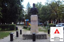 Concurs de soluţii pentru reamenajarea spaţiului public din jurul statuii lui Ciprian Porumbescu amplasată în parcul