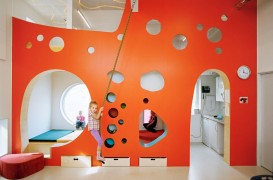 O gradinita noua experimenteaza metode spatiale de invatare cu ajutorul culorilor