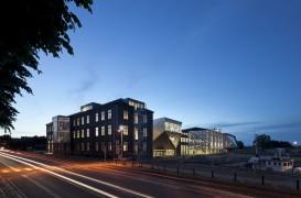 Finalizarea lucrarilor de transformare ale cladirii din zona portuara Elsinore, Danemarca