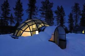 Statiune de igluuri in Finlanda