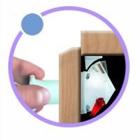 SAFE-FIX ultima generatie de sisteme de inchidere de la Hafele
