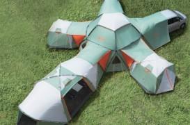 Corturile modulare Decagon redefinesc camparea