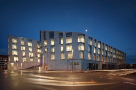 Sediul KPMG din Copenhaga, iluzii ale luminii