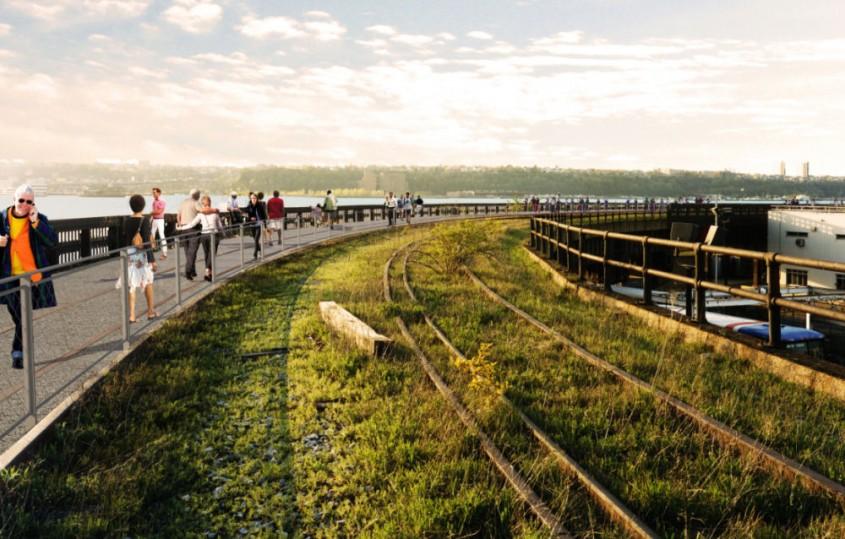 Partea a III-a a proiectului High Line din New York