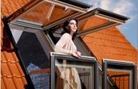 FAKRO FGH-V GALERIA -  fereastra balcon