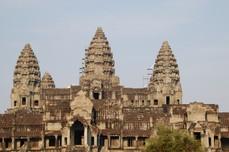 India va reproduce in beton Templul Angkor Wat din Cambodgia