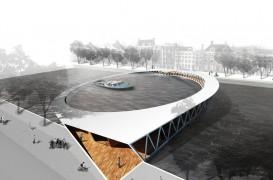 Anuntarea castigatorilor concursului pentru noul pod pietonal din Amsterdam