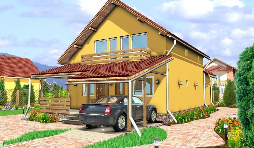 Oferta lunii Aprilie - Casa lemn Raluca la numai 49352 euro