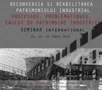 Filiala Nord - Vest a O.A.R. va invita sa participati la Forumul International Reconversia si reabilitarea patrimoniului industrial