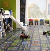 Parchet laminat camera copilului