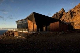 Knoll Ridge Cafe in Parcul National Tongariro, Noua Zeelanda