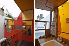 Apartament din Argentina pune in valoare materialele reciclate
