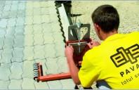 Elis Pavaje: 165.000 mp de pavaj montati in primul semestru al  anului 2012