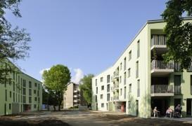 Revitalizarea unei zone rezidentiale din Koln construita dupa razboi