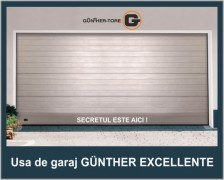 Usa de garaj sectionala Gunther Excellente