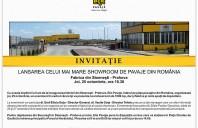 Invitatie la lansarea celui mai mare showroom de pavaje din Romania - Elis Pavaje