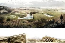 Propunerea celor de la Rivas y Urena Arquitectos castiga Concursul de Peisagistica, Arhitectura si Vin