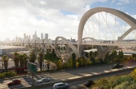 Conceptul propus de HNTB pentru Viaductul 6th Street