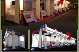 Exemple de standuri reprezentative pentru firma 1 Pure Design