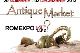 Antique Market la Romexpo