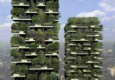 Bosco Verticale din Milano, prima padure pe verticala aproape gata