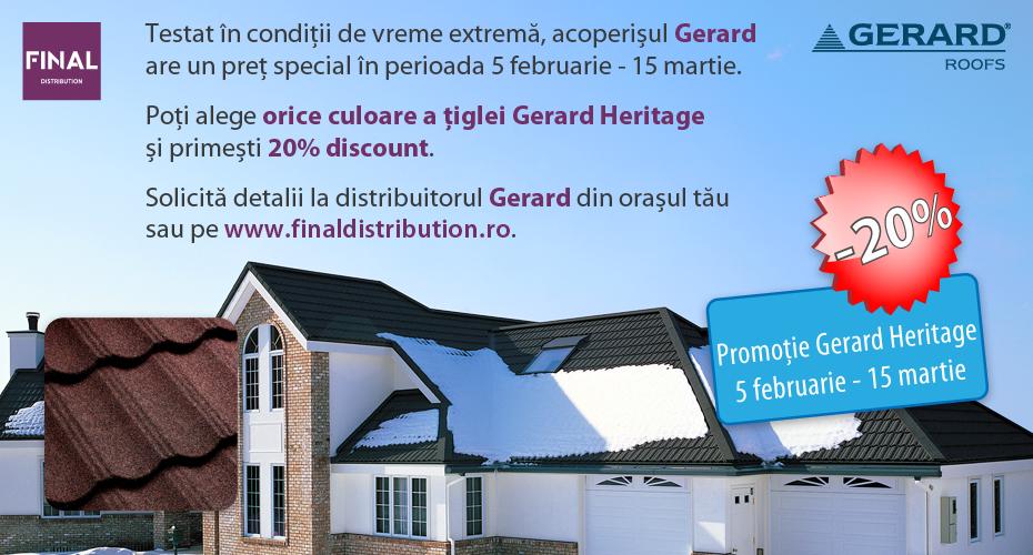 Tigla Gerard Heritage Pret
