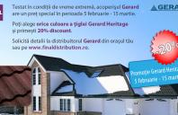 Tigla GERARD Heritage, pret special pana la 15 martie