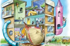 Casa ideala de vacanta, din punctul de vedere al copiilor