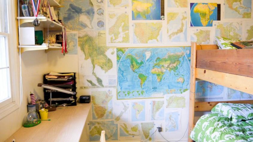Nu arunca hărțile vechi, sunt imprimeurile perfecte pentru o serie de decoratiuni hand-made