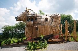 Hotel inspirat de Calul Troian in Belgia