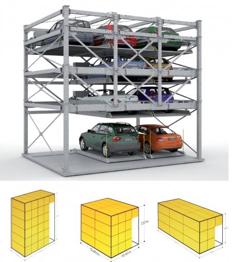 Noua versiunea a sistemului de parcare Combiparker 556