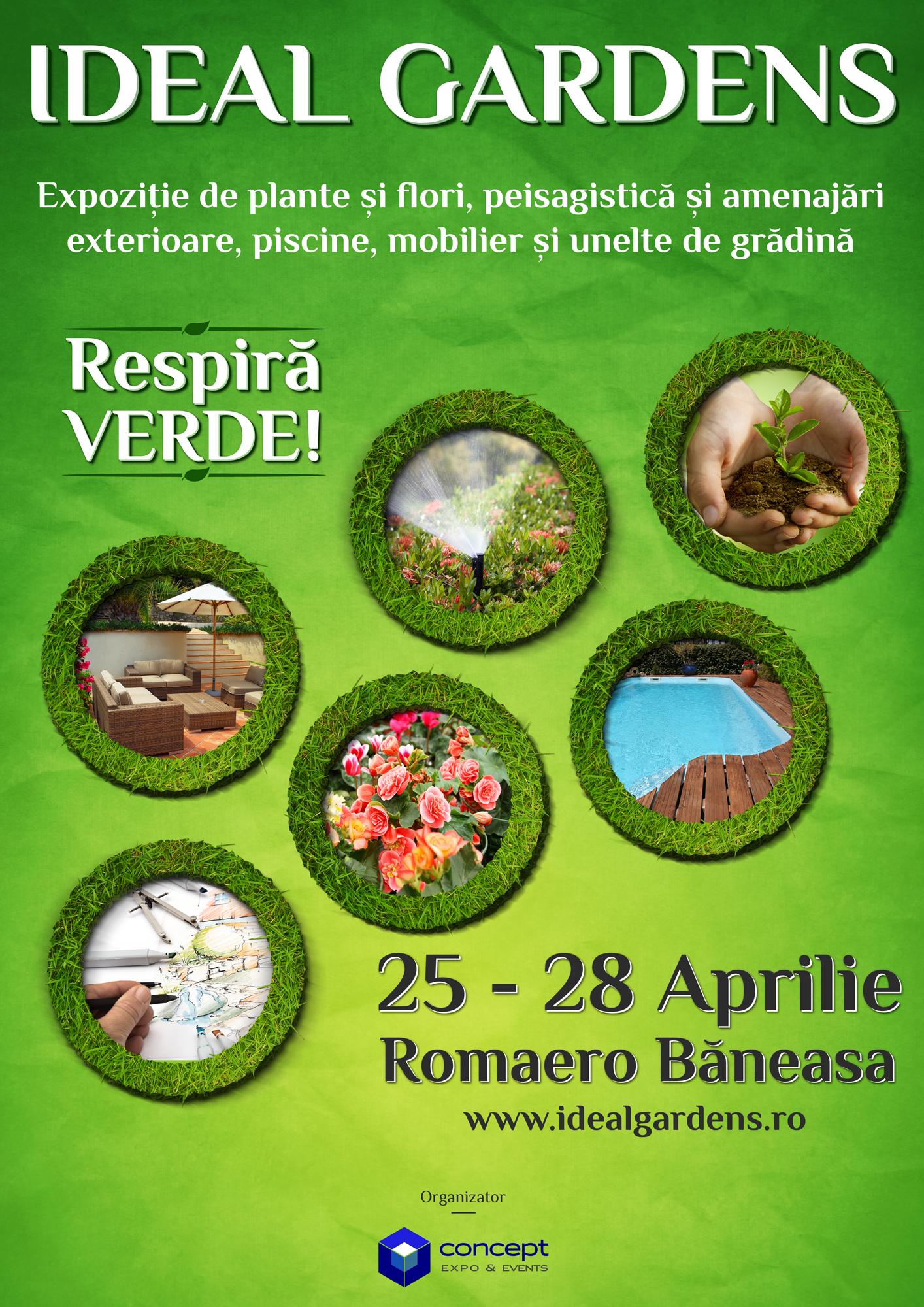 Expozitia ideal gardens plante si flori peisagistica si for Amenajari piscine exterioare