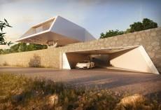 Vila F, forme prefabricate ce profita de soarele Greciei