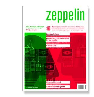 Neuroarhitectura - ultima frontiera intre creier si mediu. In Zeppelin #112 / martie
