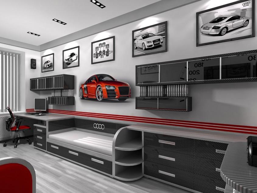 Din dragoste pentru masini: case cu design auto